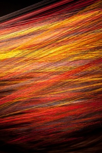 The structure of fibres in flame retardant fabrics save lives